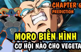 """Hé lộ bản phác thảo Dragon Ball Super chap 62: Trai đẹp Moro bón hành cho Vegeta, Hoàng tử saiyan không còn """"gáy"""" được nữa"""