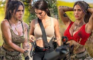 """Body """"căng đét"""" của cực binh sĩ Isarel khiến fan PUBG mê mẩn: Nữ hoàng súng đạn, biểu tượng của nữ quyền"""