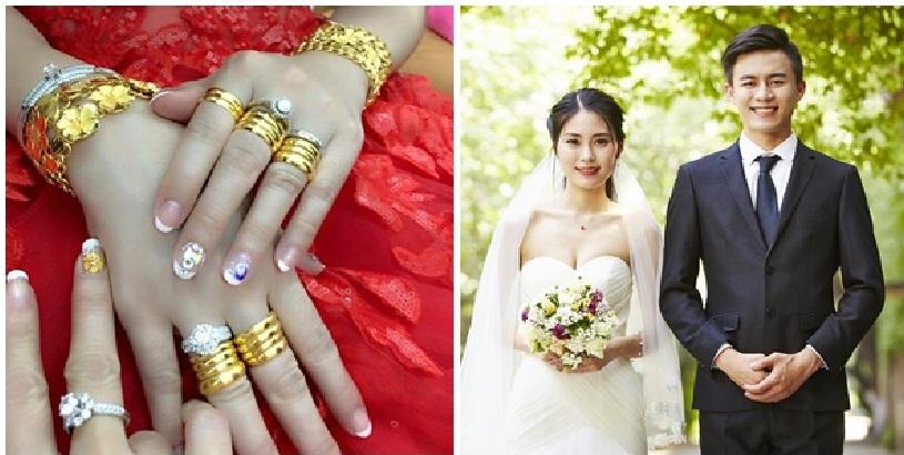 Đêm tân hôn, cô dâu vác thùng tiền mừng, vàng vàng và chú rể trả cho nhà chồng vì lý do này