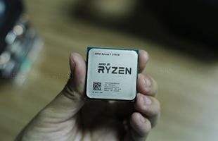Cận cảnh CPU AMD Ryzen 7 2700X hàng nóng mới xuất hiện tại Việt Nam