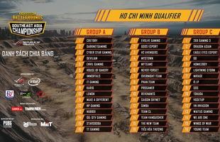 Giải đấu PUBG Đông Nam Á vòng loại Việt Nam chính thức công bố chi tiết bảng đấu