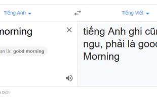 Google Dịch đang biến thành trò đùa của cư dân mạng Việt