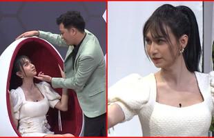 """Lynk Lee ngượng đỏ mặt khi Trường Giang đòi hôn trên sân khấu """"Ơn giời cậu đây rồi"""""""