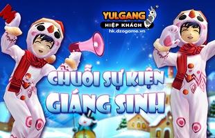 Bạn biết gì chưa: Chuỗi sự kiện hấp dẫn của Yulgang Hiệp Khách nhân dịp Giáng Sinh