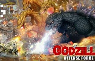 Godzilla Defense Force – Game Mobile mới bắt bạn ngập hành với cả loạt quái vật khổng lồ