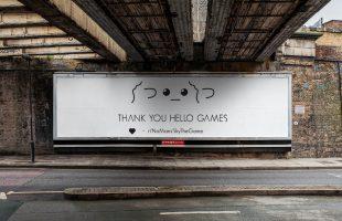 Game thủ No Man's Sky chi 40 triệu mua bảng quảng cáo gửi lời cảm ơn tới Hello Games vì đã không từ bỏ trò chơi