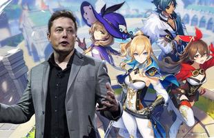 Elon Musk ngỏ ý muốn làm người chơi hệ tỷ phú của Genshin Impact?