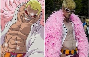 One Piece: Donquixote Doflamingo bước ra đời thật chuẩn từ chân tơ đến kẽ tóc qua loạt ảnh cosplay