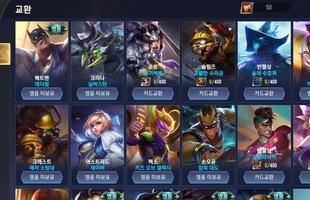 Liên Quân Mobile: Cận cảnh Shop đổi mảnh ở Hàn khiến game thủ VN ai cũng thèm khát
