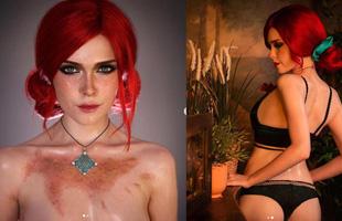 Ngất ngây trước bộ ảnh cosplay nàng phù thủy Triss trong The Witcher 3