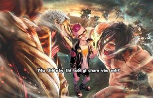 Tưởng thế nào, hóa ra Titan chỉ là ruồi muỗi đối với siêu anh hùng Marvel mà thôi