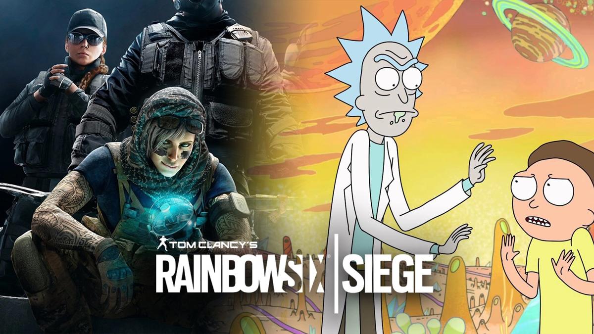 Rick & Morty bất ngờ xuất hiện trong Rainbow Six Siege