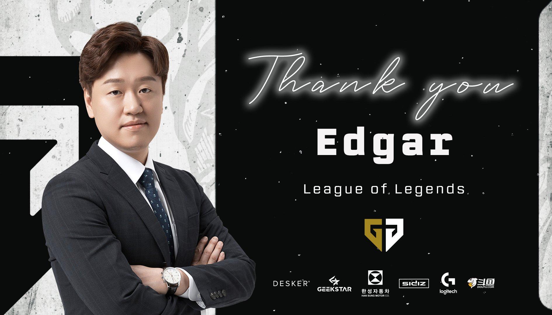 HLV Edgar, người thầy vĩ đại của GenG Esports chính thức chia tay đội tuyển