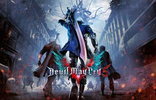 Hé lộ nhân vật bí ẩn trong poster của Devil May Cry 5