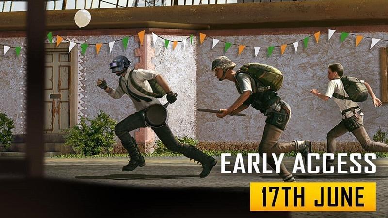 Battlegrounds Mobile India chính thức mở truy cập sớm ngày 17/06