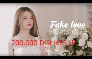 MV Cover Fake Love của Linh Ka quảng cáo game Liên Minh Bóng Tối nhận gần… 200.000 Dislike chỉ sau 5 ngày ra mắt