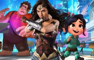 """""""Wonder Woman"""" Gal Gadot hóa thân thành tay đua siêu hạng trong phần 2 của Wreck-It-Ralph: Ralph Phá Đảo Thế Giới Ảo"""