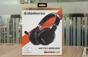 Dùng thử SteelSeries Arctis 1 Wireless: Đang chơi game muốn đi WC cũng không cần tháo tai nghe