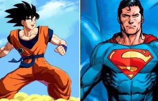 """Giải trí với loạt meme vui về """"cuộc chiến không cân sức"""" giữa Goku và Superman"""