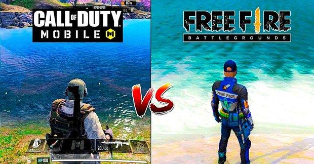 Free Fire Vs Call of Duty Mobile: Cái nào tốt hơn?