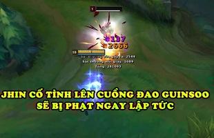LMHT: Vẫn cố tình lên Cuồng Đao Guinsoo tại các giải đấu, Jhin sẽ bị hệ thống game phạt tự động