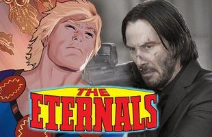 """""""Ông Kẹ"""" Jonk Wick sẽ trở thành ác nhân đi săn các siêu anh hùng trong The Eternals?"""