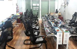 Một quán net ở Đồng Nai bị trộm lấy mất toàn bộ thùng máy, màn hình… chỉ chừa lại gear
