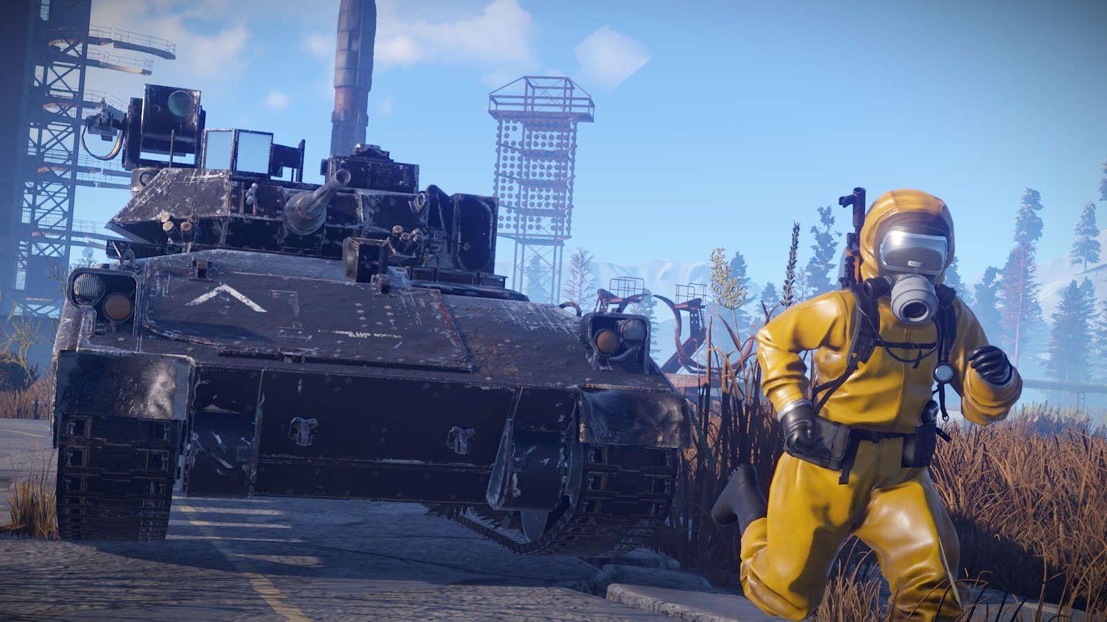 Phiên bản console của Rust được đánh giá bởi ESRB