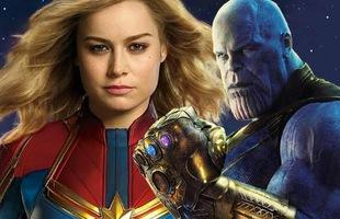 Captain Marvel lý giải vì sao nữ siêu anh hùng mạnh nhất MCU đủ khỏe để đả thương ác nhân Thanos