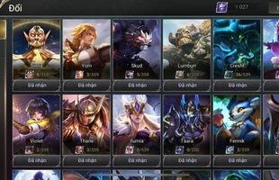 Liên Quân Mobile: Garena tặng cả server 8 tướng, game thủ có 83 tướng tâm tư và buồn lòng