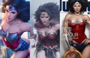 """Đổ gục trước những hình ảnh """"bốc lửa"""" của các nữ siêu anh hùng"""