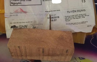 Chuyện thật như đùa: Mua iPhone XS Max giá 290 ngàn đồng trên mạng nhận được... cục gỗ