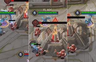 """Liên Quân Mobile: Đối thủ quá hớ hênh, ADC """"khiêu vũ"""" với Nakroth cực chất lúc """"End Game"""""""