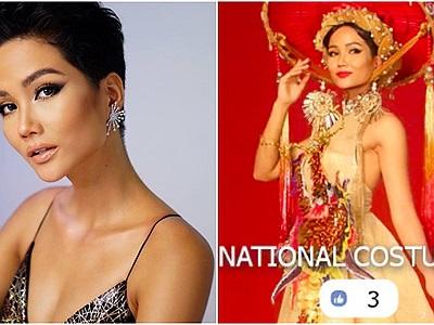 """""""Nhá hàng"""" trang phục dân tộc tại Miss Universe 2018, H-Hen Niê nhận """"mưa"""" lời khen vì quá lộng lẫy"""