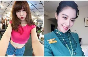 Cận cảnh nhan sắc xinh đẹp của 4 nữ tiếp viên hàng không bốc lửa nhất Đài Loan