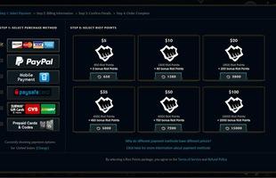 LMHT: Riot Games tăng giá quy đổi RP trên tất cả các server, máy chủ Việt Nam liệu có ảnh hưởng?