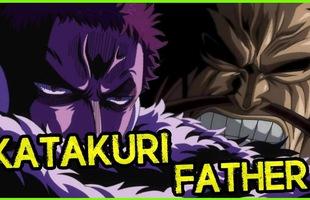 """One Piece: Tứ Hoàng Kaido có thể từng là """"chồng"""" của Big Mom, bố của Katakuri?"""