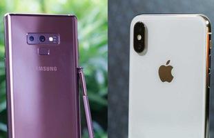 Đại chiến ngàn đô: Samsung Galaxy Note9 vượt trội so với Apple iPhone X