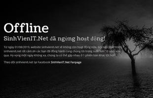 Diễn đàn nổi tiếng chuyên chia sẻ phần mềm lậu SinhVienIT.net chính thức dừng hoạt động