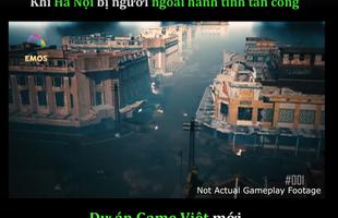 Xuất hiện dự án game Việt mới, lấy đề tài Hà Nội bị người ngoài hành tinh tấn công