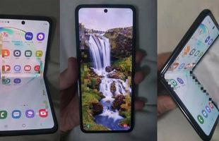 Lộ diện hình ảnh thực tế của smartphone màn hình gập giá rẻ Samsung, không phải là Galaxy Fold 2?