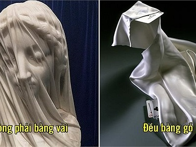 20 tác phẩm điêu khắc tinh tế đánh lừa cảm giác về chất liệu của bạn