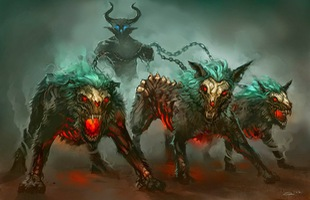 Chó quỷ: Loài quái vật hung dữ canh gác địa ngục