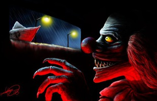 """Gã hề Pennywise ma quái của """"IT"""" trong bộ ảnh fanart đáng sợ không kém phiên bản điện ảnh"""