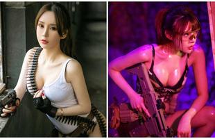 Dàn hot girl cosplay PUBG nóng bỏng mắt, chỉ nhìn thôi là súng ống đã lên nòng để sẵn sàng chạy bo