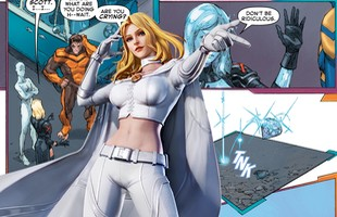"""Marvel Comics: Dị nhân Emma Frost có thể khóc """"vãi"""" ra kim cương?"""