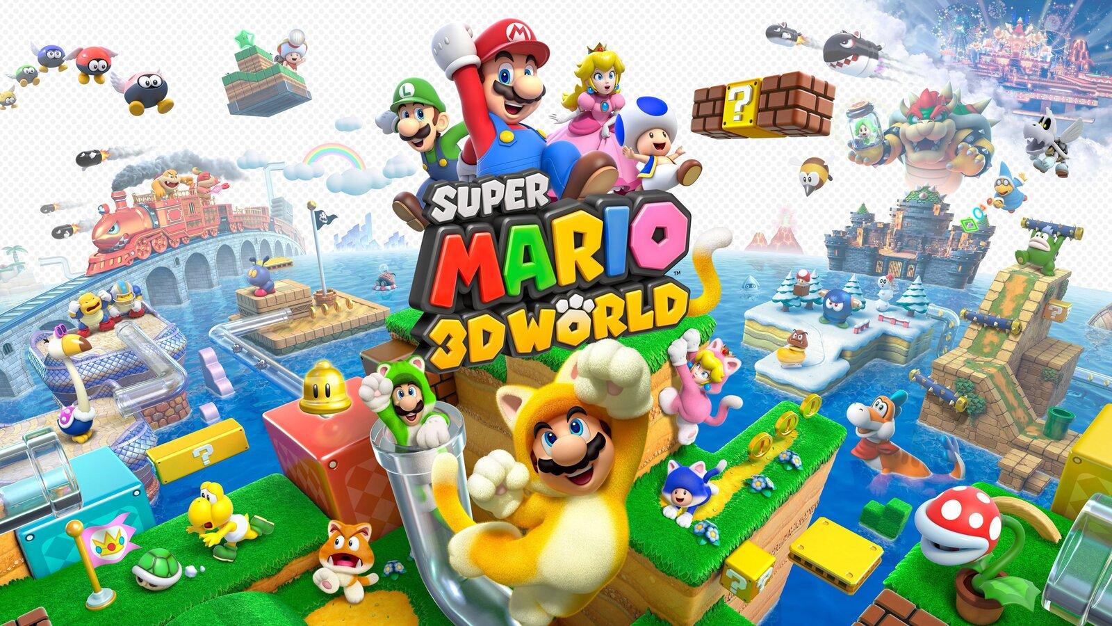 Super Mario 3D World giới thiệu phần chơi 4 người cực vui