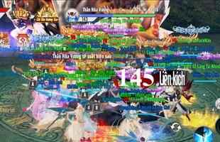 Lãng Tử Kiếm 3D đông không thở nổi! Chiến trường 8 hướng, 6 cổng, 3 con Boss mà vẫn chật kín màn hình!
