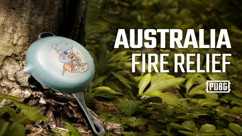 PUBG gây quỹ khắc phục hỏa hoạn ở Úc