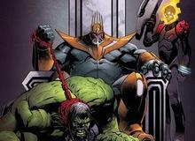 """Old King Thanos: Vị vua hùng mạnh thống trị vũ trụ đã tiêu diệt hết các siêu anh hùng và nuôi """"Hulk"""" làm thú cưng"""